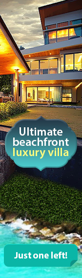 Ultimate beachfront luxury villa