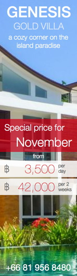 Promotion - Novemper 2014 - Hot Price for Genesis Gold Villa